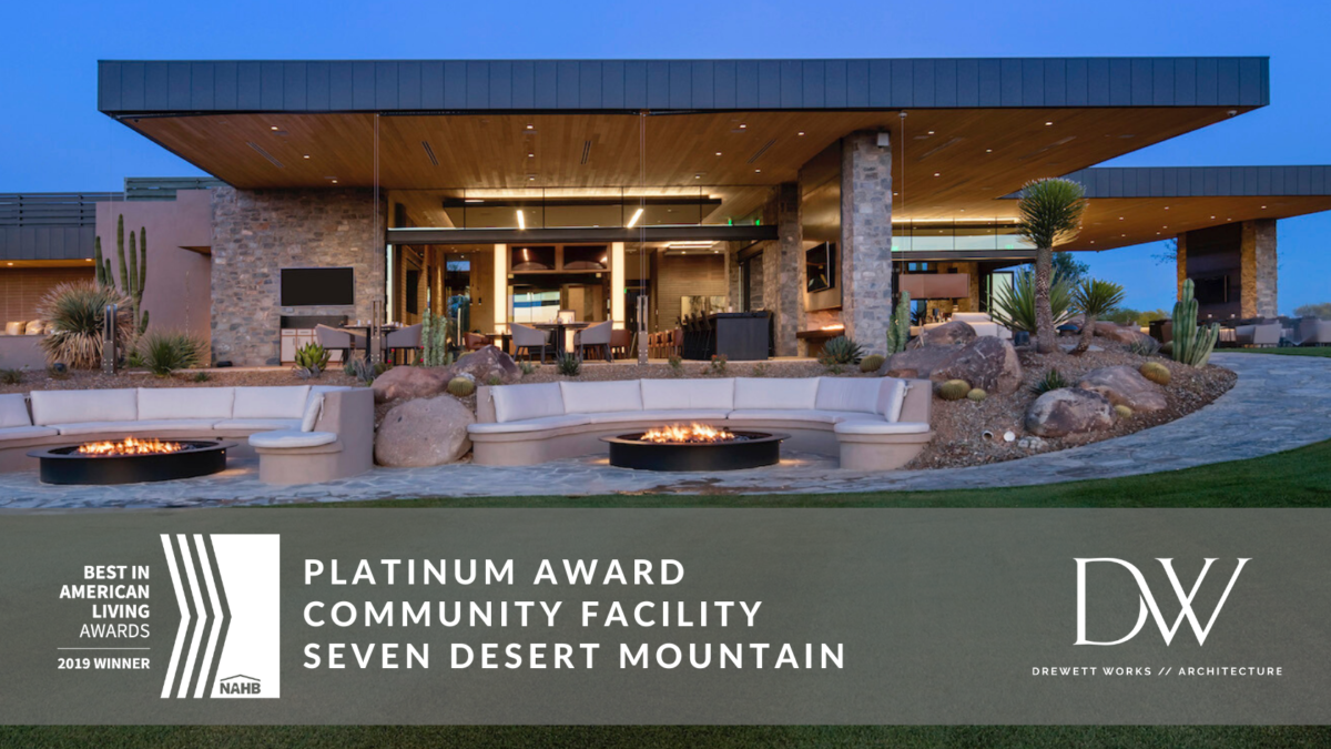 2019 Best in American Living Awards Platinum - Best Community Facility - Seven Desert Mountain