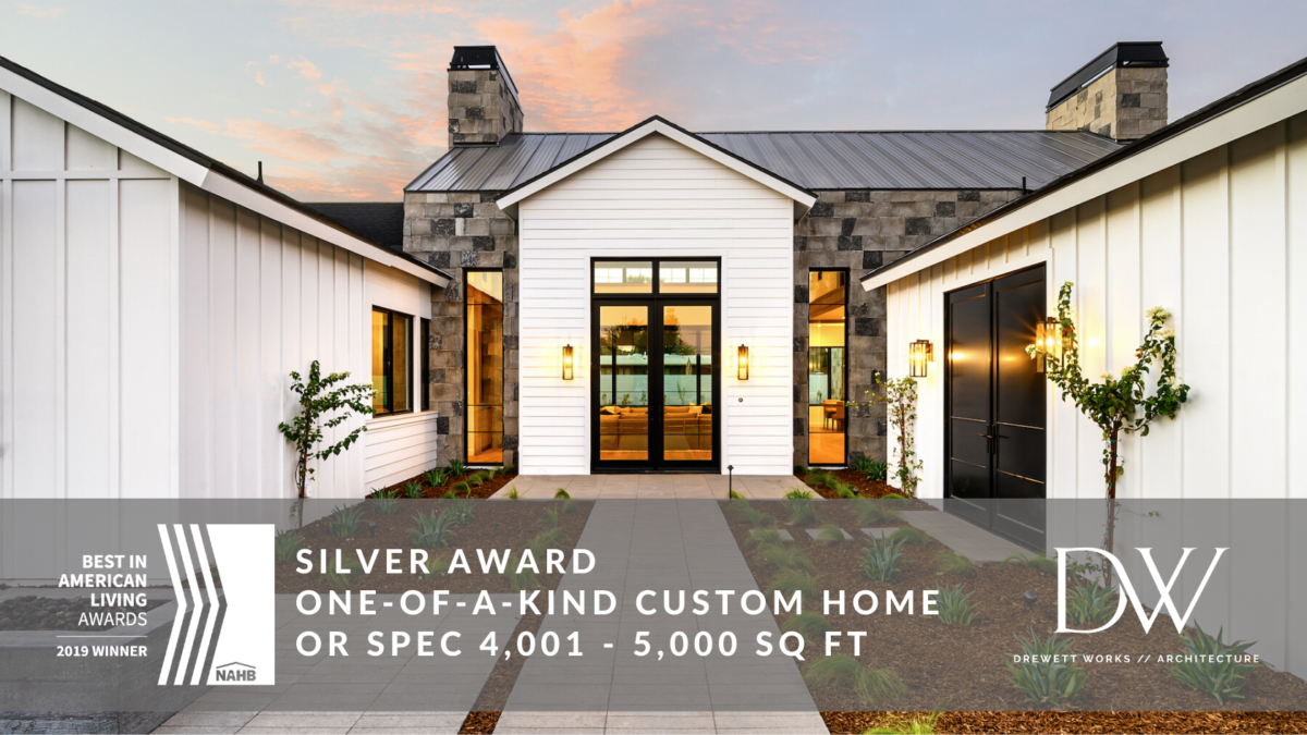 2019 Best in American Living Awards - Silver - Best Custom Home 4-5K - The Magnolia House