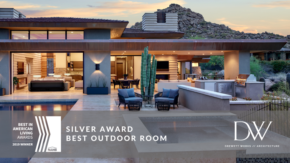 2019 Best in American Living Awards Silver - Best Outdoor Room - Desert Prairie