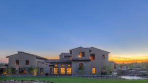 Ranch Hacienda architecture by Drewett Works