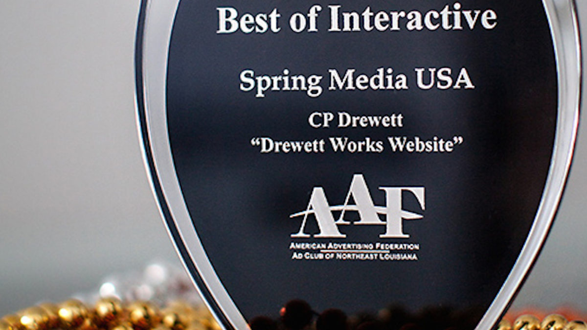 DW Website wins Addy Award