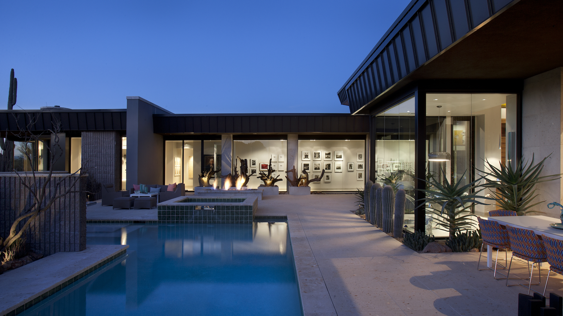 Desert Modern architecture by Drewett Works