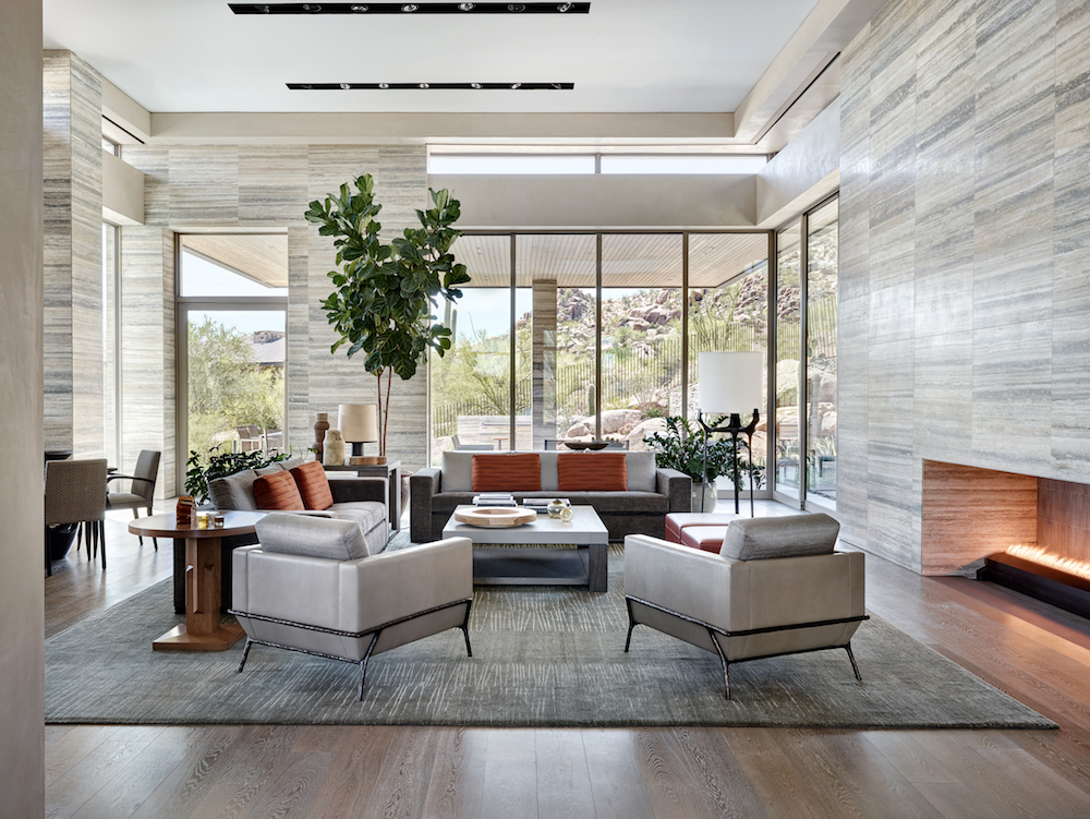 Modern Luxe Interieur : Elegant modern at estancia drewett works
