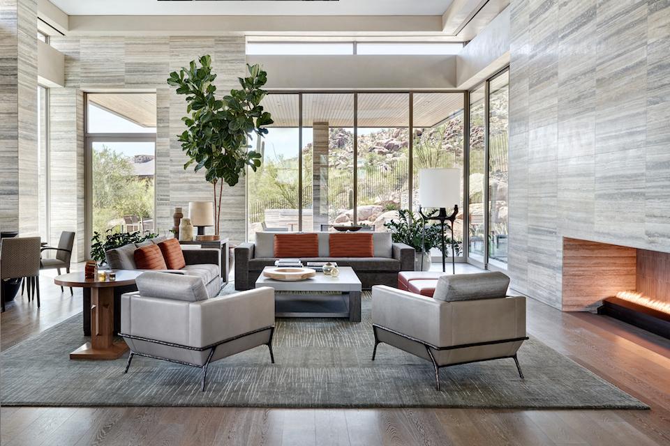 Elegant Modern Featured in Luxe Interiors + Design & Elegant Modern featured in Luxe Interiors + Design | Drewett Works