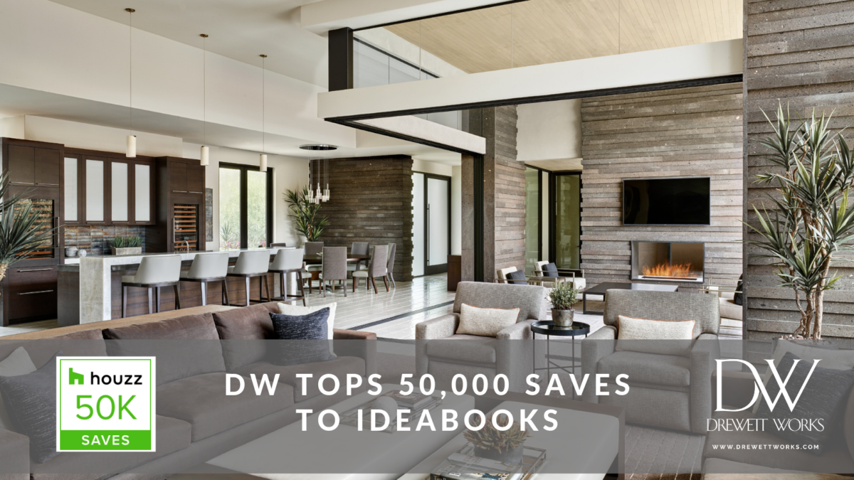 DW tops 50,000 saves on Houzz