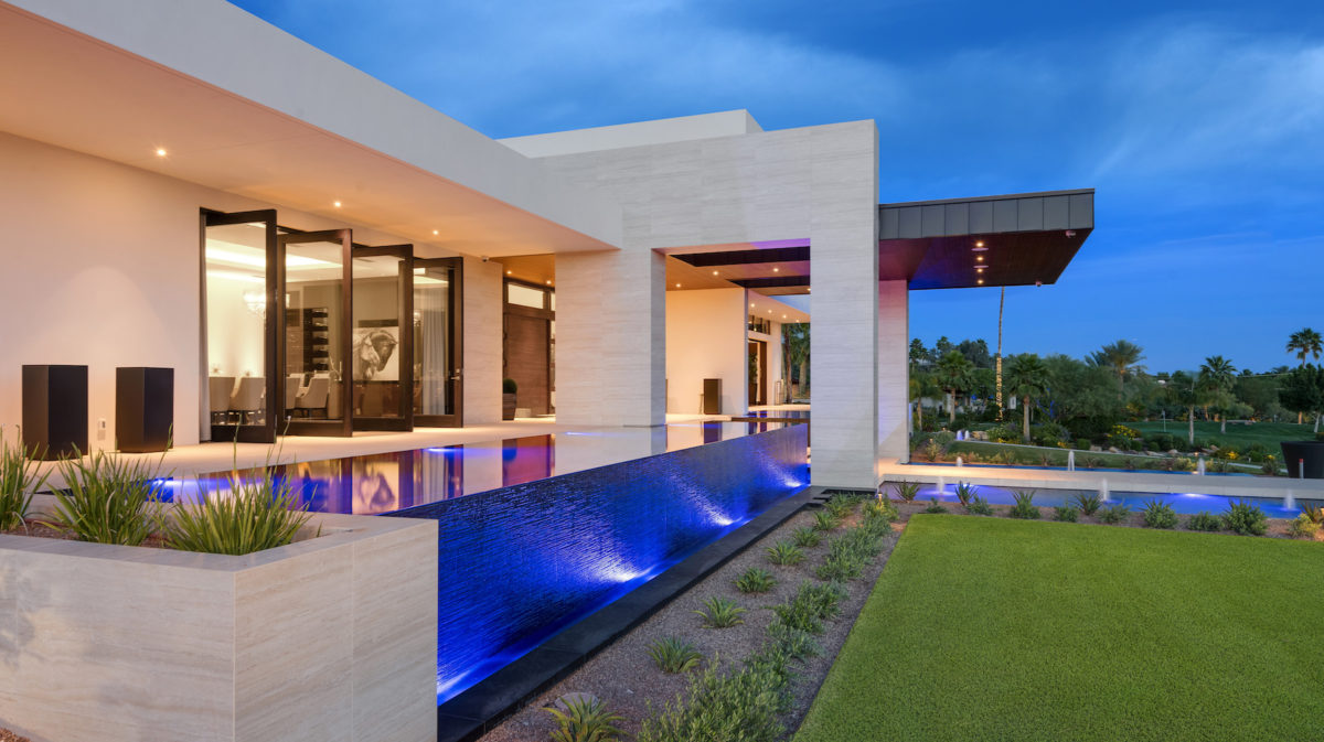 Estate at Camelback Mountain architecture by Drewett Works
