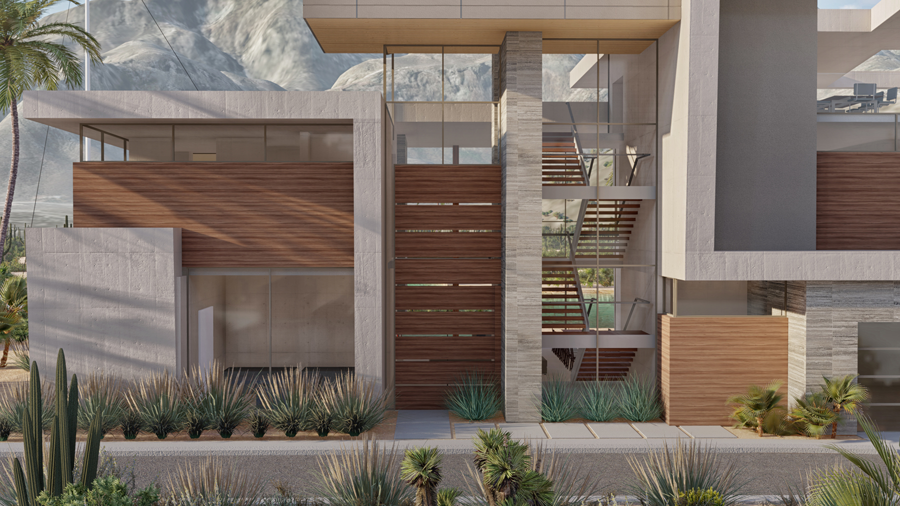 Casa Palomilla View 2 Designed by Drewett Works