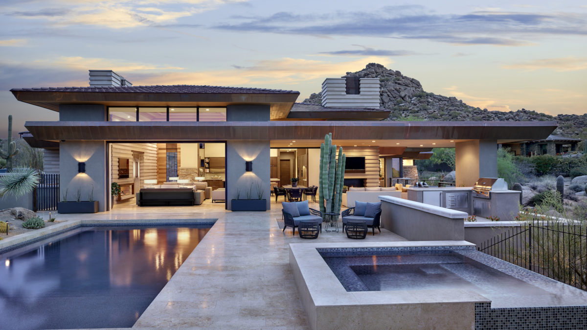 Desert Prairie architecture by Drewett Works