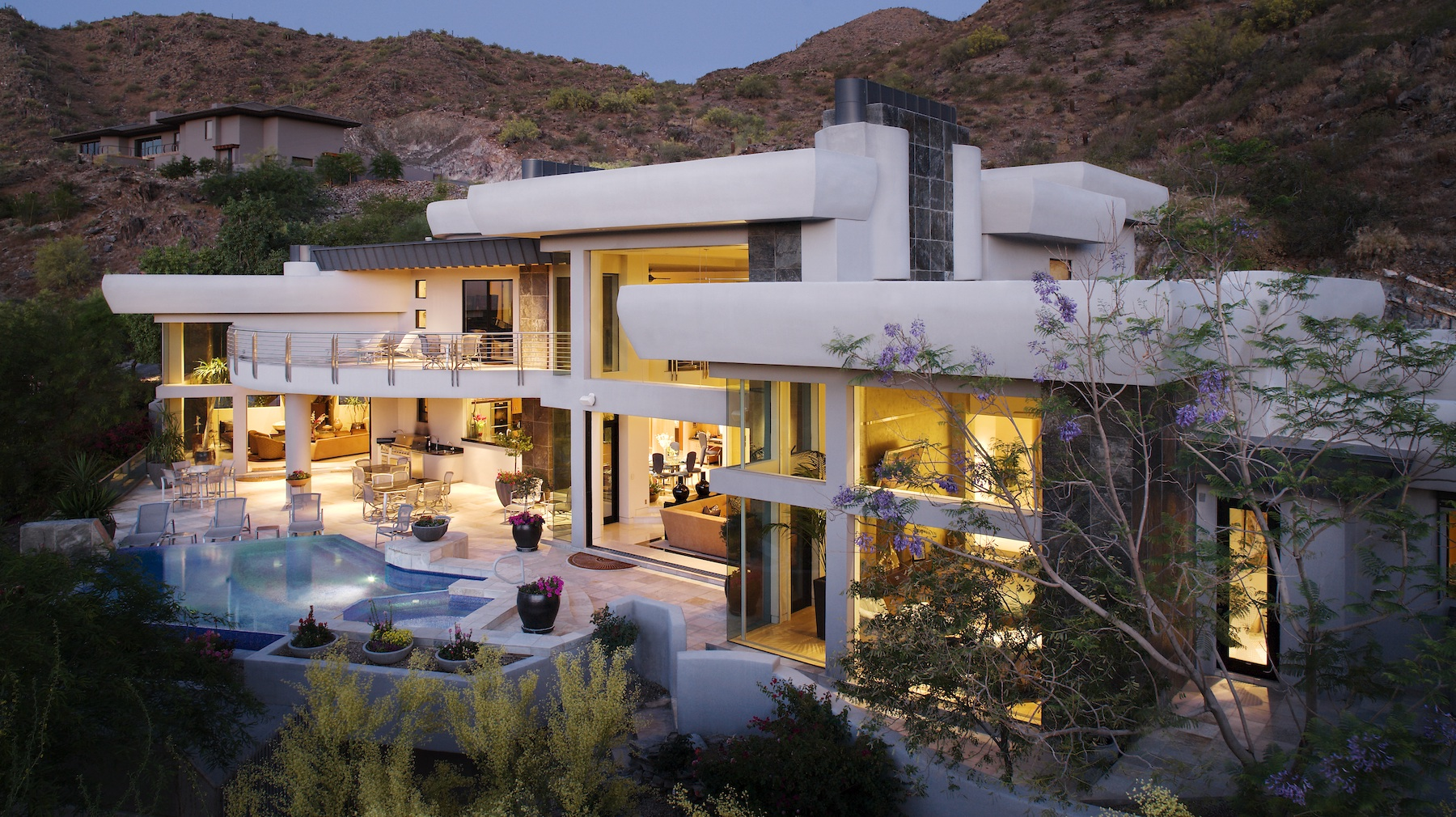 Modern Paradise Valley Estate architecture by Drewett Works