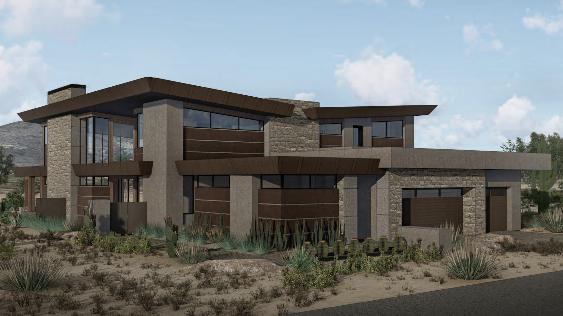 The Village at Seven Desert Mountain architecture by Drewett Works