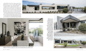 Above and Beyond was featured in Phoenix Home and Garden
